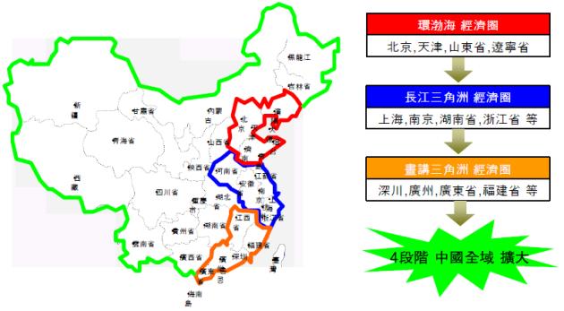 롯데마트 중국 출점 전략